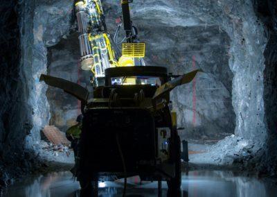 Mecanización integral para la realización de túneles hidráulicos